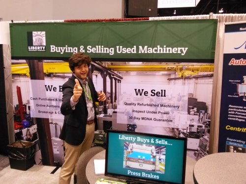 IMTS 2016 booth