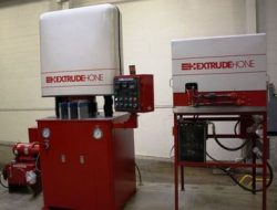 Abrasive Flow Machine Extrude Hone 8-6 Vector