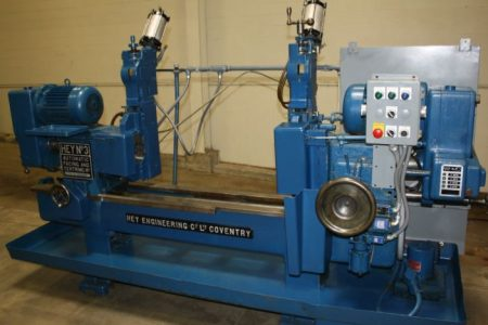 """6"""" x 54"""" Hey Number 3 Facing and Centering Machine - Liberty #40650"""