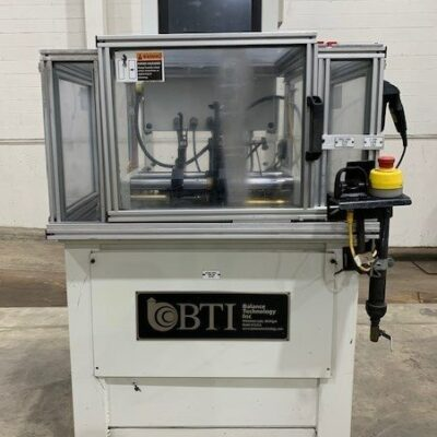 Balance Technology Inc BTI Balancing Machine H-5 Benchtop