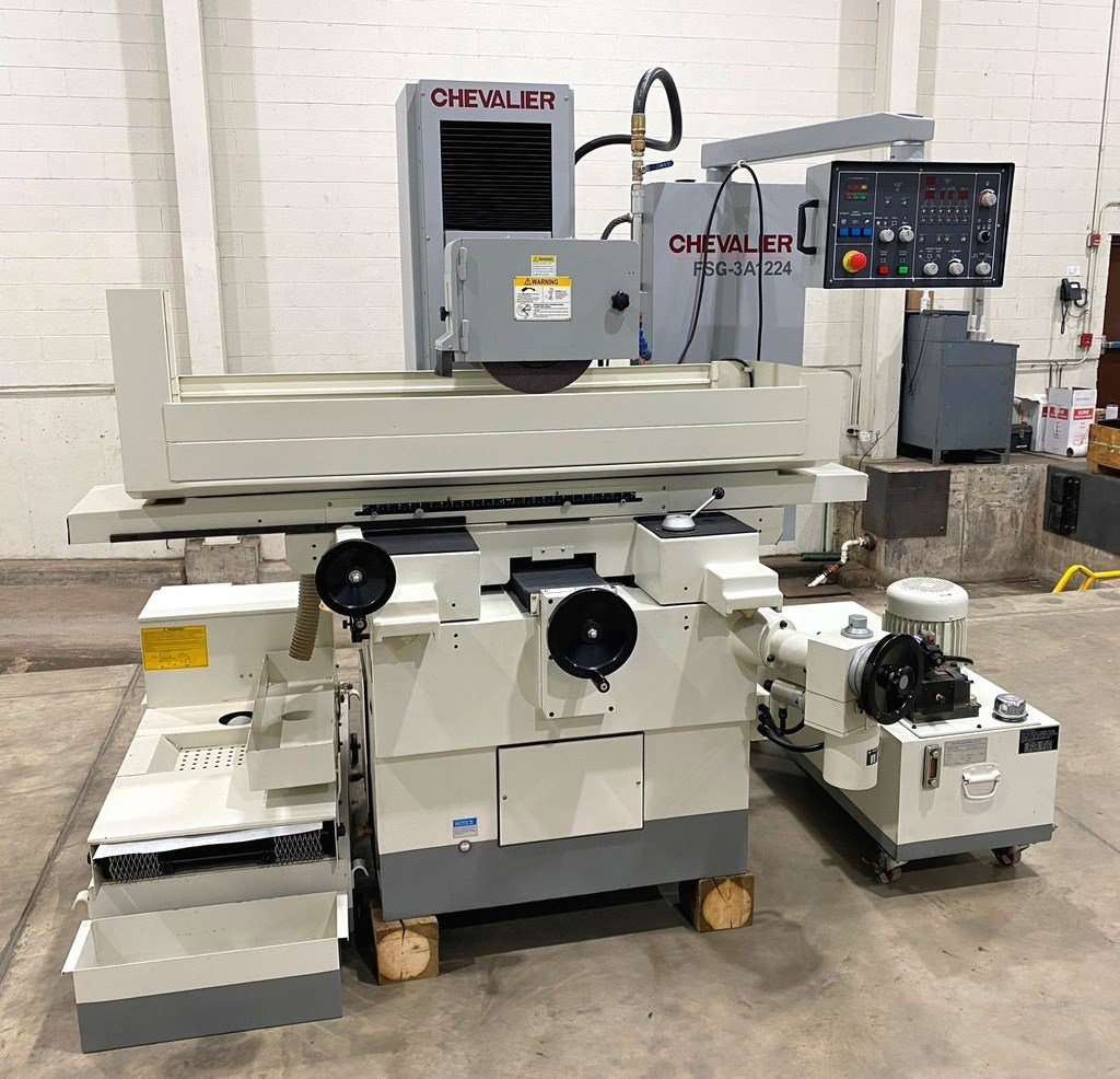 Chevalier FSG-3A1224 3-Axis Automatic Hydraulic Surface Grinder
