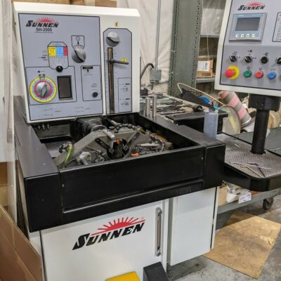 Sunnen Hone Model SH-2000 Horizontal Honing Machine